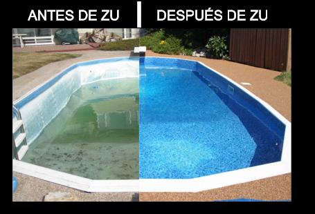 Zu piscinas liner el material revolucionario para la for Material para piscinas